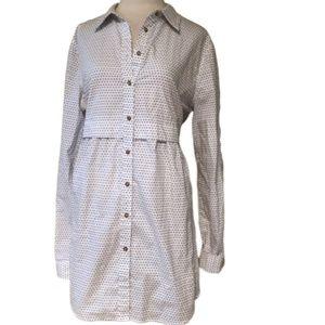 ANTHROPOLOGIE MAEVE Button Down Dress XL